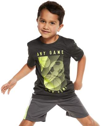 Boys 4-10 Jumping Beans Mesh Active Graphic Tee