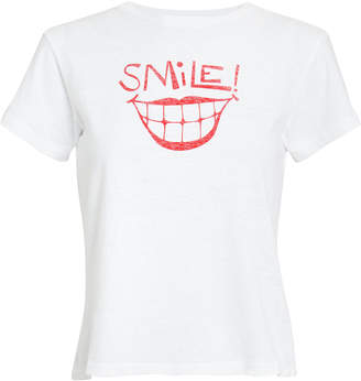 RE/DONE Classic Smile Tee