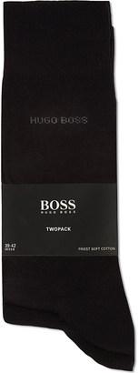 Hugo Boss Pack of two plain socks $15.50 thestylecure.com