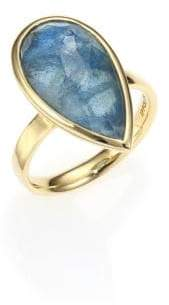 Ippolita Rock Candy London Blue Topaz, Labradorite & 18K Yellow Gold Doublet Ring