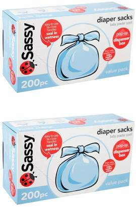 Sassy Baby Disposable Diaper Sacks by