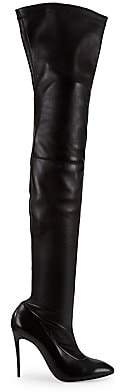 Christian Louboutin Women's Eloux Over-The-Knee Stretch Leather Boots