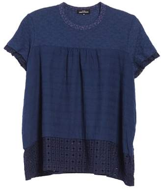Comme des Garcons Eyelet Swing Tee