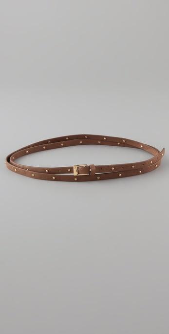 Gorjana Fairfax Double Wrap Studded Belt
