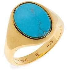 J.Crew Demi-Fine Turquoise Ring