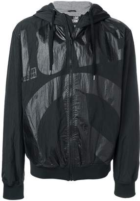 Love Moschino lightweight hooded jacket