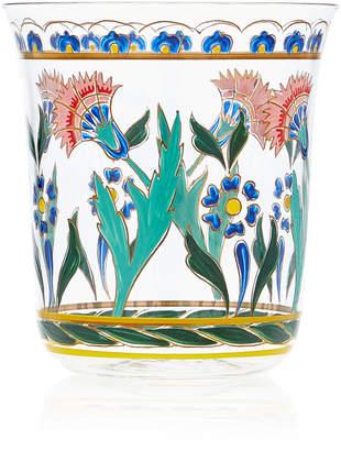 Lobmeyr Persian No. 3 Handpainted Floral Motif Tumbler