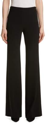 Theory Admiral Crepe Clean Flare Leg Pants