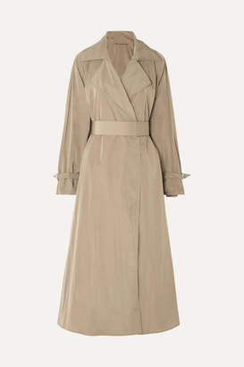 Max Mara Belted Shell Trench Coat - Brown