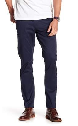 DKNY Sateen Slim Straight Leg Trousers