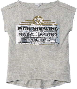 Little Marc Jacobs Girls' Sequin T-Shirt