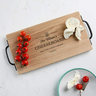 Dust and Things Large Personalized Family Cheese Board