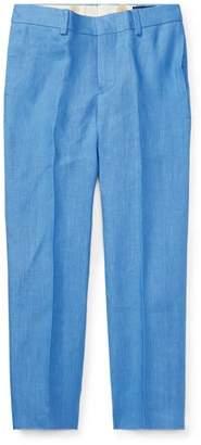 Ralph Lauren Straight-Leg Woodsman Pants, Blue, Size 4-7