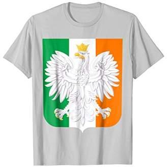 Polish Irish T-ShirtFamily Heritage Shirt