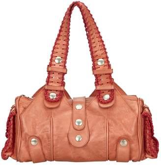 Chloé Silverado Burgundy Leather Handbag