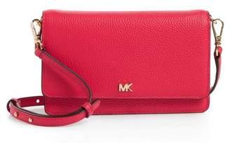 MICHAEL Michael Kors Leather Crossbody Phone Wallet