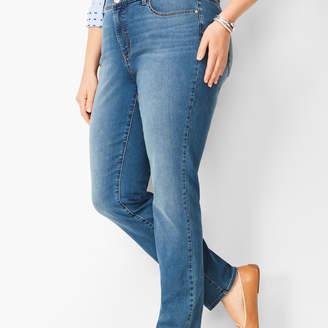 Talbots High-Waist Straight-Leg Jeans - Aurora Wash