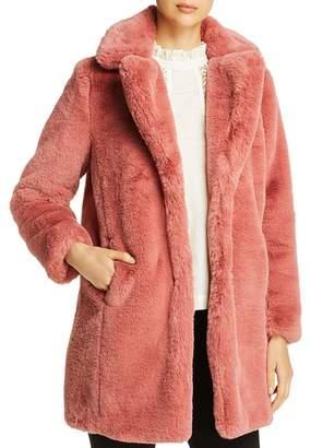 4d220d868 Pink Faux Fur Coat - ShopStyle