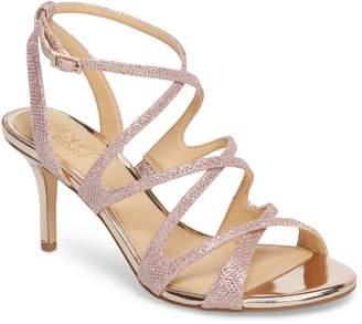 Badgley Mischka Tasha Glitter Sandal