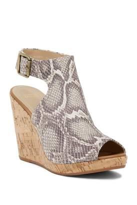 Johnston & Murphy Mila Open Toe Wedge Sandal