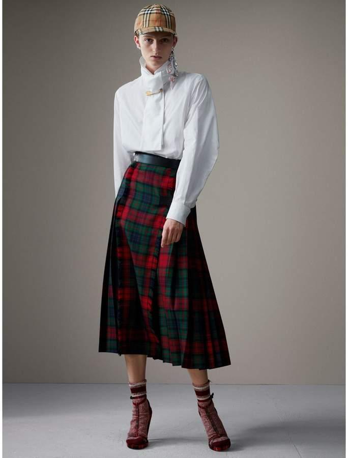 Burberry Tartan Wool High-waisted Kilt