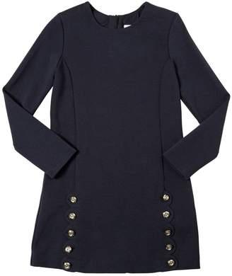 Chloé Milano Jersey Dress W/ Buttons