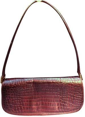 Free Lance Brown Leather Handbag