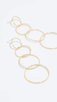 Jules Smith Designs Quatro Hoop Earrings
