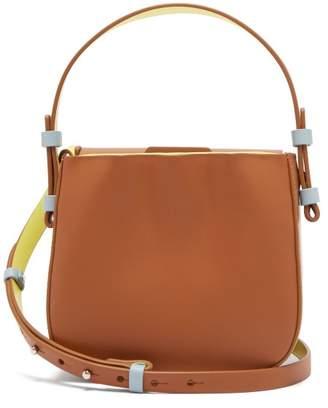 Nico Giani - Desia Mini Leather Cross Body Bag - Womens - Tan Multi