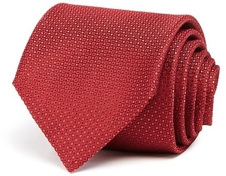 Canali Micro Square Textured Solid Classic Tie $160 thestylecure.com