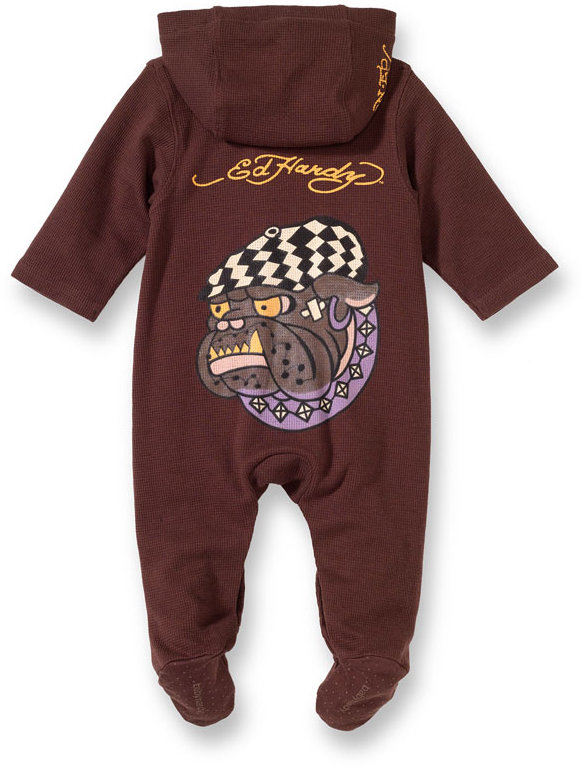 Ed Hardy Thermal Coveralls (Infant)