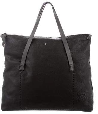 Henry Beguelin Grained Leather Tote
