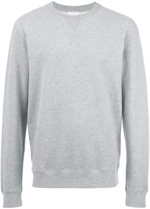 Sunspel crew neck sweatshirt