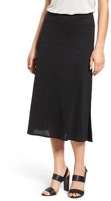 Women's Nic+Zoe Every Occasion Knit Midi Skirt $118 thestylecure.com