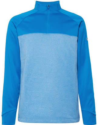 Nike Therma Core Fleece-Back Jersey Half-Zip Golf Top