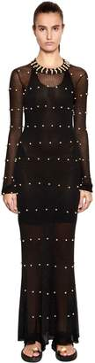 Sonia Rykiel Embellished Knit Dress