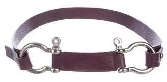 Burberry Horsebit Waist Belt