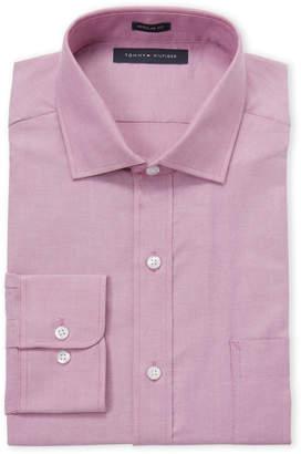 Tommy Hilfiger Berry Regular Fit Dress Shirt