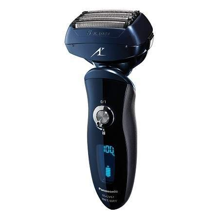 Panasonic Arc5 Wet/Dry Shaver with Cleaning System, Model ES-LV81-K