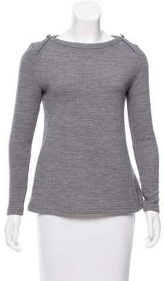 MAISON KITSUNÉ Bateau Neck Wool Sweater
