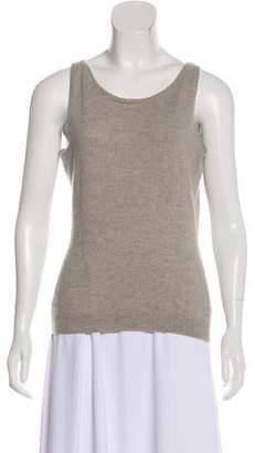 Ralph Lauren Black Label Sleeveless Cashmere Sweater