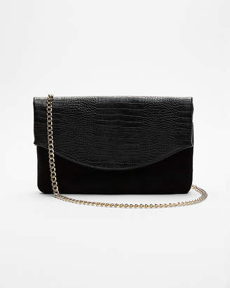 Express Chain Strap Fold Over Shoulder Bag