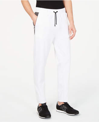 Armani Exchange Men's Piped Detail Joggers