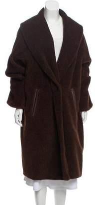 Max Mara Anfora & Wool Long Coat