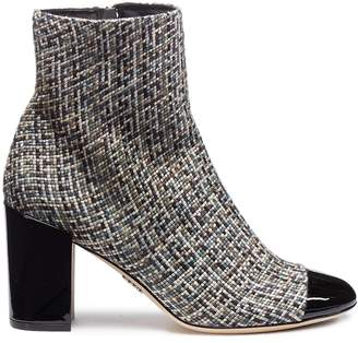 Rodo Tweed ankle boots