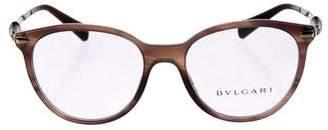 Bvlgari Jewel Tortoiseshell Eyeglasses