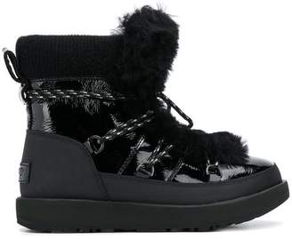 UGG faux fur snow boots
