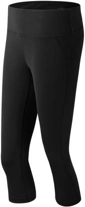 New Balance Women's Premium Performance Capri Workout Leggings