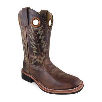 SMOKY MOUNTAIN Smoky Mountain Kid's Jesse Waxed Distress Leather Cowboy Boot