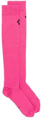 Marcelo Burlon County of Milan knee-length logo socks